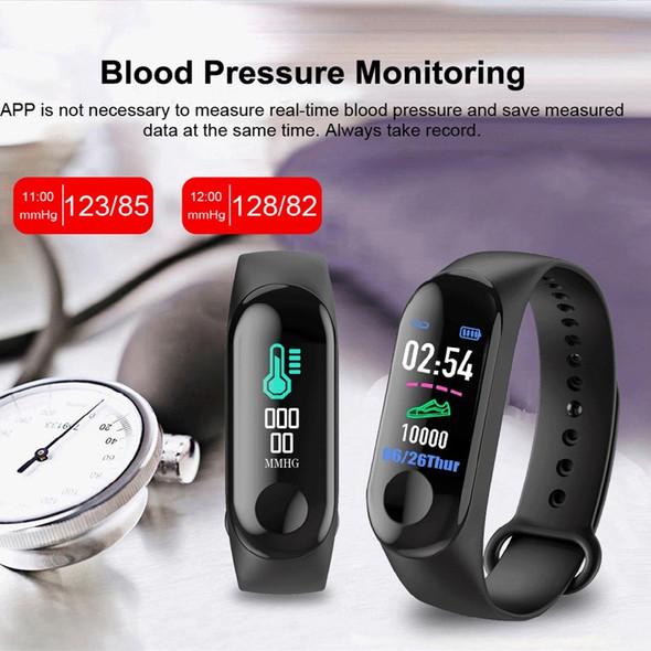 WATCH SMART BRACELET M3 INTELLIGENCE HEALTH