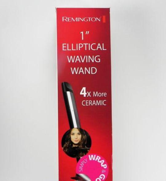 "HAIR ELLIPTICAL WAVING WAND 1"" REMINGTON CERAMIC"