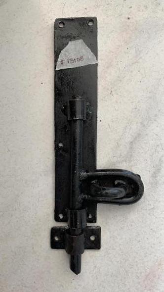 "TOWER BOLT 8"" PADLOCK TYPE LOCAL BLACK"