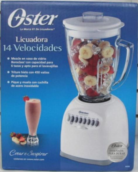 BLENDER OSTER 14SP 6608 GLASS 110V