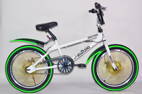 """BICYCLE 20"""" SINGH S/S 140 SPOOKES STUNT SSFREESTYLE-140H"""