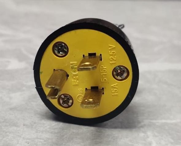 PLUG 3 PIN DUPLEX ROUND 1709-BOX COOPER