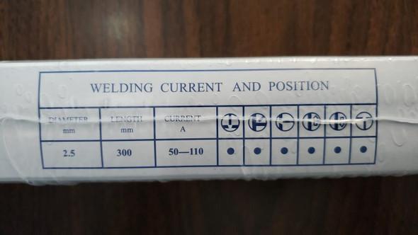 WELDING ROD 12 SWEC 5.5LBS 2.5MM