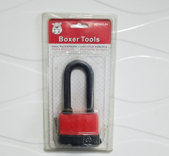 PADLOCK BOXER 65MM #NT1442 WEATHER PROOF