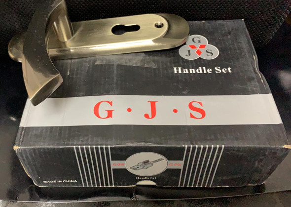 LOCK MORTICE G.J.S JS007 AB SILVER