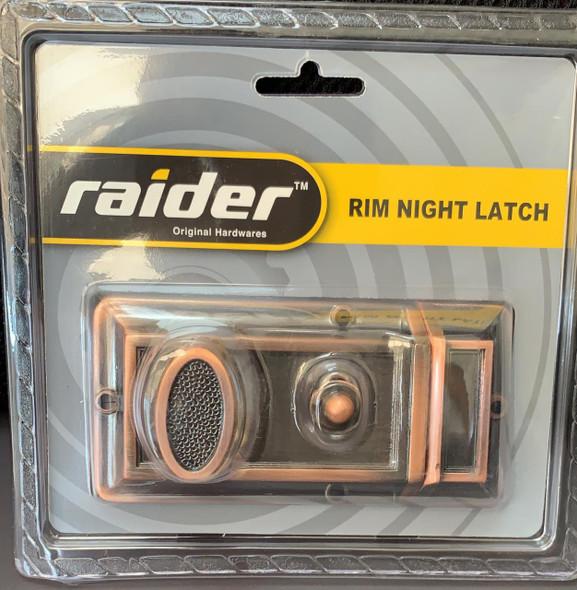 LOCK NIGHT LATCH RAIDER #564 AC