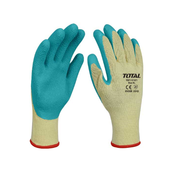 GLOVES WORKERS CREAM & GREEN TOTAL TSP13101