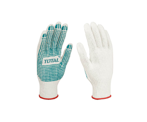 GLOVES WORKERS CREAM & RED TOTAL TSP11102