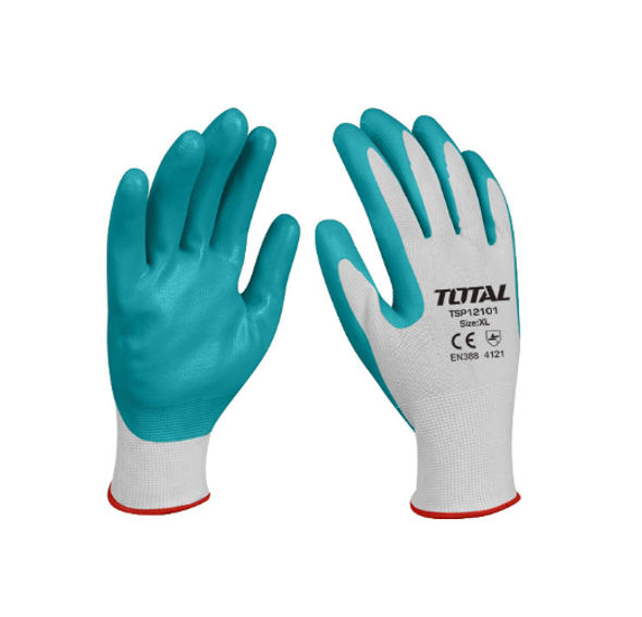 GLOVES WORKERS RED & GREEN TOTAL TSP12101