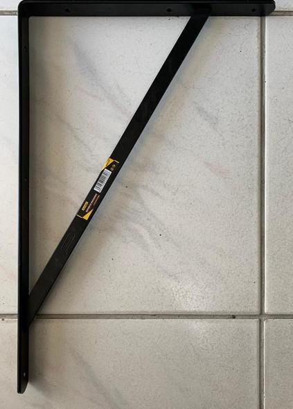 "SHELF BRACKET UYUSTOOLS SOE220 13"" X 20"" HEAVY BLACK SOLD EACH"