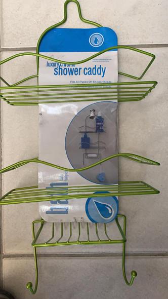 SHOWER CADDY 3 TEIR  LUXURY CHROME RYW-0212
