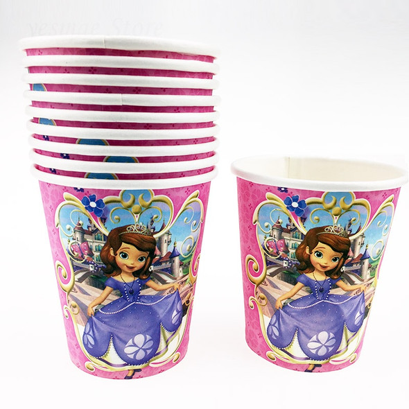 PARTY CUPS CHARACTERS 12PCS PACK BI-177 PAPER TYPE
