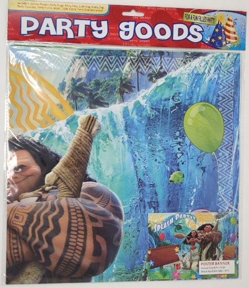 PARTY BANNER POSTER CHARACTERS PART 190 BACKGROUND