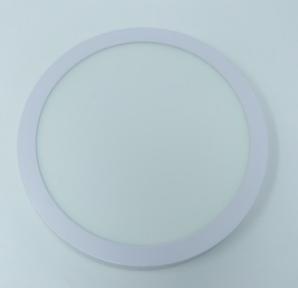 LIGHT LED PANEL 18W ROUND WHITE SURFACE YARY