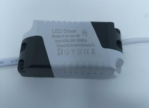 BALLAST LED DRIVER 8-18W WHTIE & GRAY 85-265V