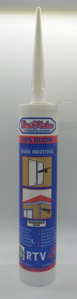 SILICONE SEALANT 10.1 OZ CLEAR BEST VALUE