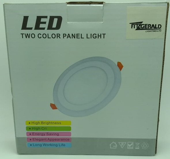 LED PANEL LIGHT 2 COLOR 6W+3W FITZGERALD