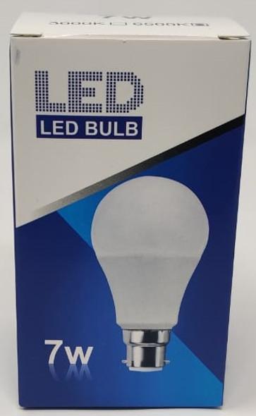 BULB LED 7W 85-265 ROHS ROUND ZY 6500K