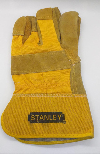 GLOVES WORKERS STANLEY YELLOW & BROWN