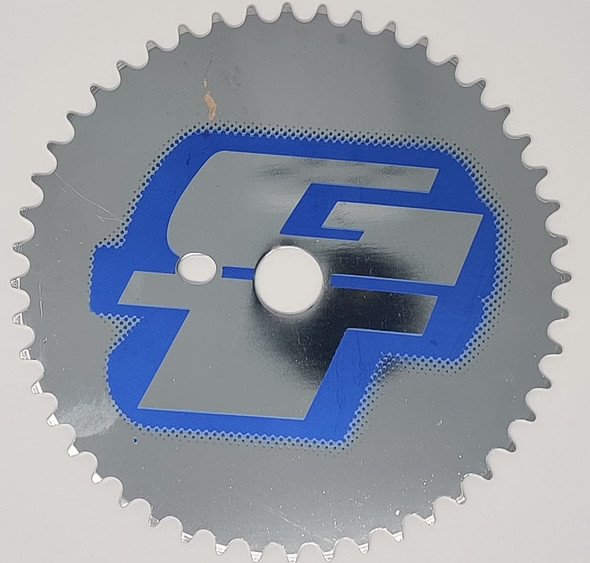BICYCLE GEAR WHEEL SINGLE 48T PLTD-122A48-KH