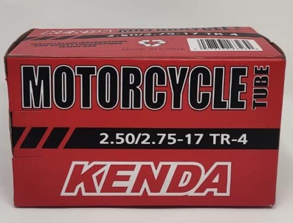 M/CYCLE TUBES 250/275 X 17 TR-4 KENDA 2.50/2.75
