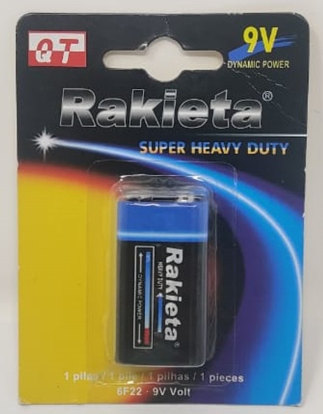 BATTERY RAKIETA 9V HEAVY DUTY