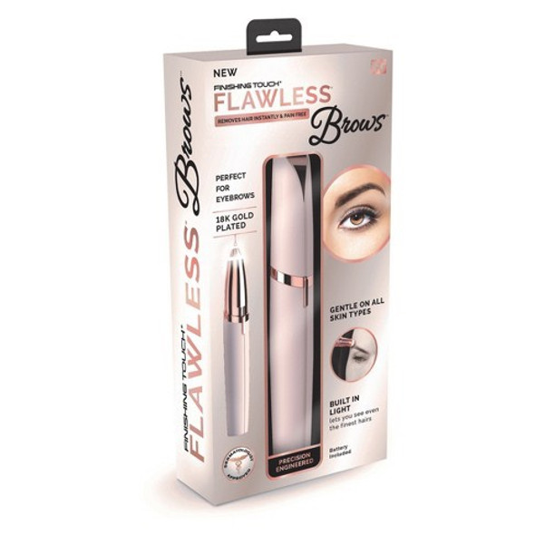 Shaver Finishing Touch Flawless Brows Eyebrow Hair Remover