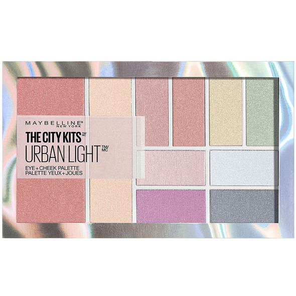 Makeup Maybelline New York The City Kits All-in-One Eye & Cheek Palette Urban Light 0.42 oz.