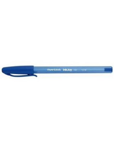 STATIONERY PEN PAPER MATE INKJOY 100 CAPPED BALLPOINT 1.0MM MEDIUM POINT SOLD EACH