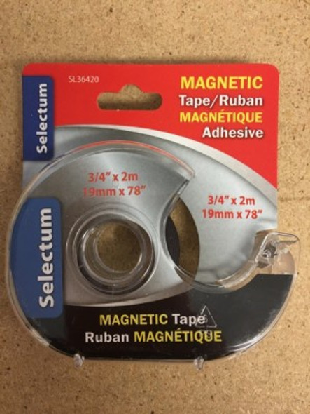 "TAPE SELECTUM MAGNETIC 3/4"" X 2M 19MM X 78"" SL36420"
