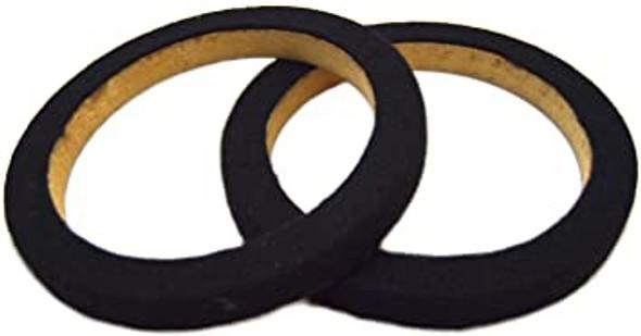 "SPEAKER RING WOOD 6"" RING-06CBK WITH BLACK CARPET PIPEMAN'S NIPPON AMERICA"
