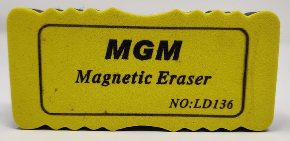 STATIONERY WHITEBOARD ERASER LARGE MAGNETIC MGM LD136