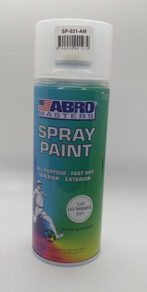 TIN SPRAY ABRO CLEAR COAT #031
