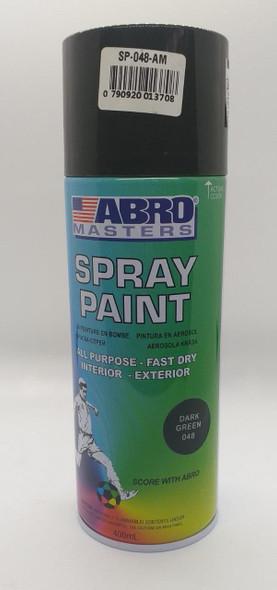 TIN SPRAY GREEN DARK ABRO #048
