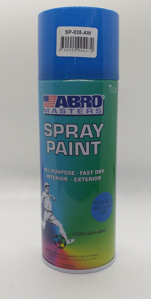 TIN SPRAY BLUE ROYAL ABRO #035
