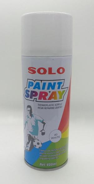 TIN SPRAY PAINT SOLO WHITE #40