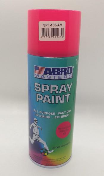 TIN SPRAY PINK FLOURESCENT ABRO #106