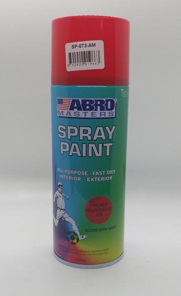 TIN SPRAY RED ABRO #073