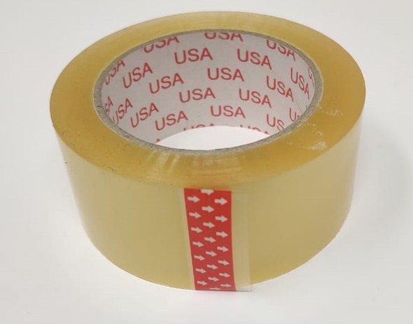"""TAPE 2"""" CLEAR USA"""
