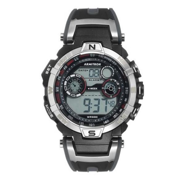 Watch Armitron Sport Men's 40/8231RDGY Digital Watch
