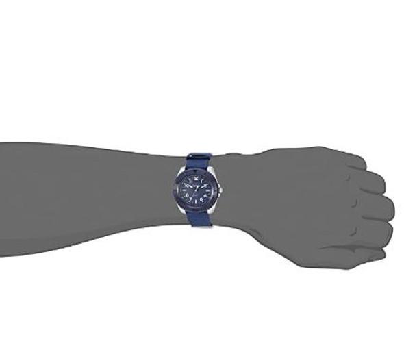 Watch Armitron Sport Men's Navy Blue Nylon Strap Watch, 20/5417NVY