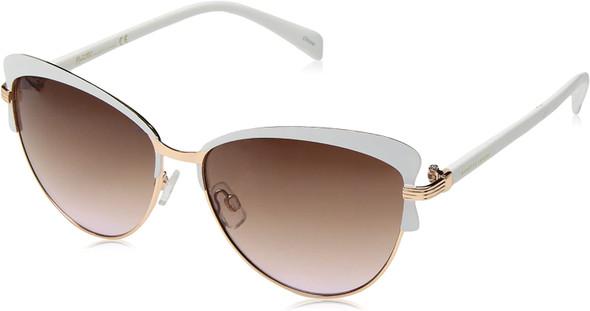Sunglasses Women Nanette Nanette Lepore NN124 Sleek Cat-Eye with 100% UV Protection 58 mm