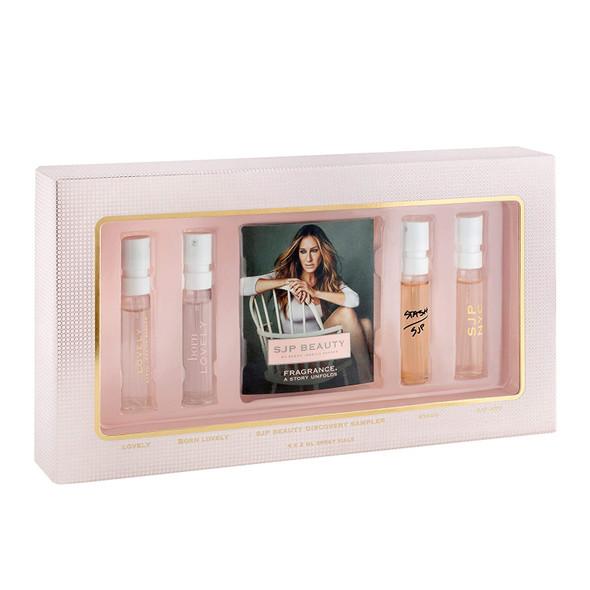 Fragrance Sarah Jessica Parker Sampler Includes Lovely Eau de Parfum, Born Lovely Eau de Parfum, Stash Eau de Parfum, SJP NYC Eau de Parfum 4 x 0.06 oz/2 mL Samples