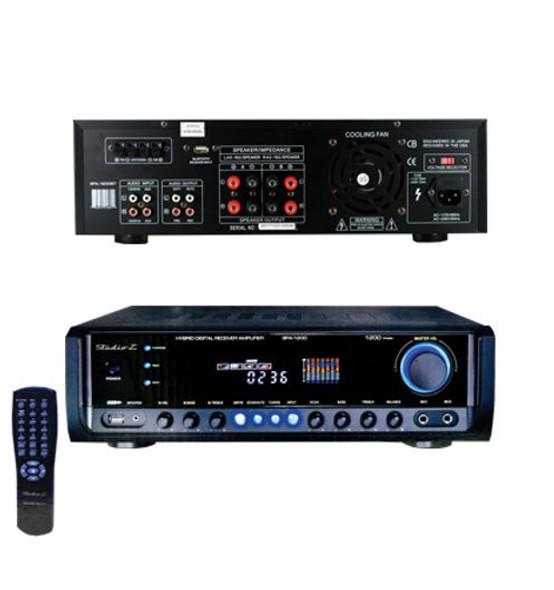 AMPLIFIER STUDIOZ SPA-1200BT WTH BLUEBOOTH HYBRID DIGITAL 1200W