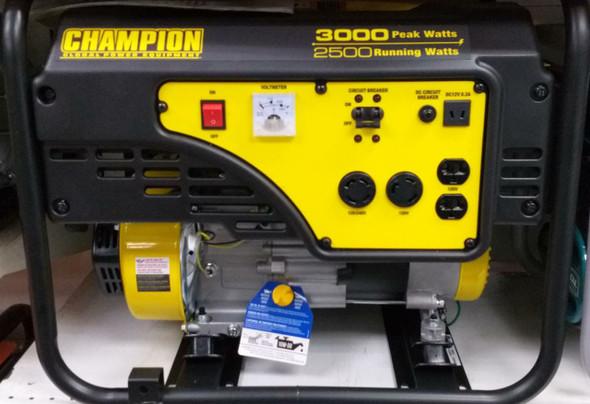 GENERATOR CHAMPION 2500W CPG2500-G PULL