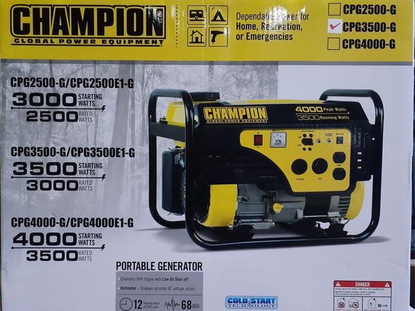 GENERATOR CHAMPION 3500W CPG3500-G PULL
