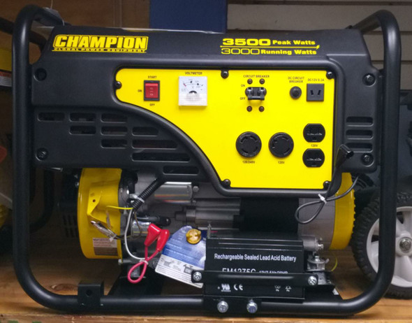 GENERATOR CHAMPION 3500W CPG3500E1-G ELECTRIC START
