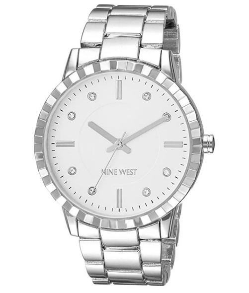 Watch Women Nine West Crystal Accented Bracelet