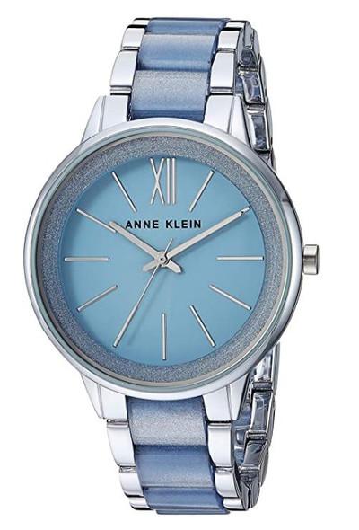 Watch Women Anne Klein Resin Bracelet Dress AK/1413LBSV