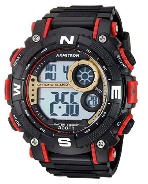 Watch Men Armitron Sport 40/8284 Digital Chronograph